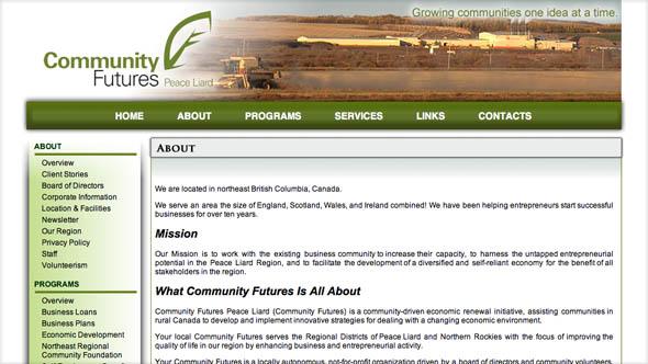Community Futures Peace Liard