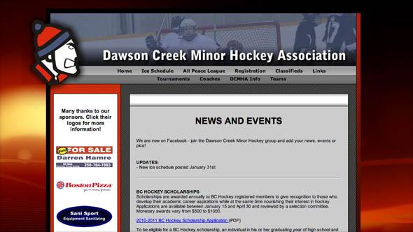 Dawson Creek Minor Hockey