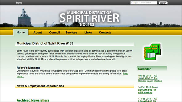 Municipal District of Spirit River