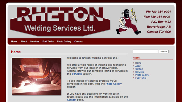 Rheton Welding Services Ltd.