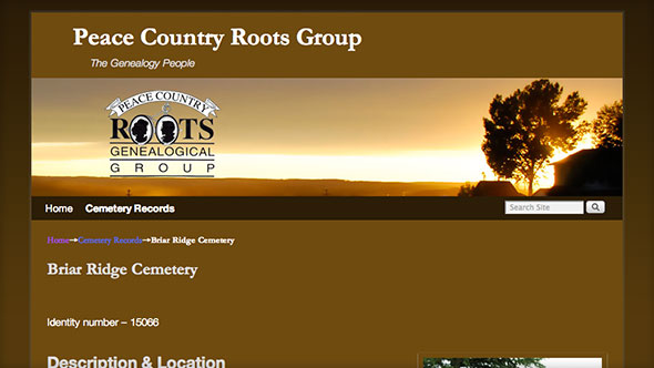 Peace Country Roots Group