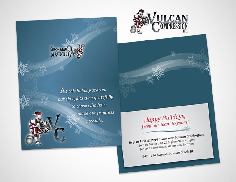 VulcanHolidayCard