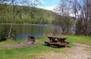 Cameron Lake Site 3